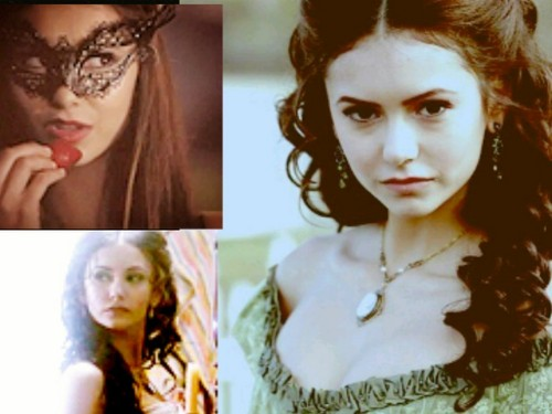 Katerina Petrova achtergrond with a portrait called K>P