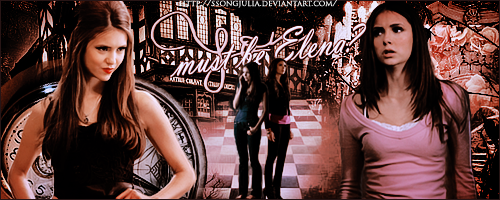Katherine Pierce and Elena Gilbert