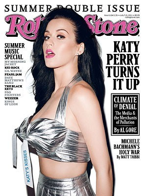 Katy Perry Covers Rolling Stone's Summer Issue
