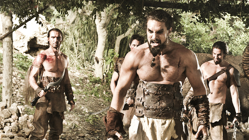 Khal Drogo wallpaper probably containing a hunk entitled Khal Drogo