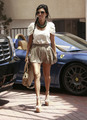 Kourtney Kardashian seen out and about in Beverly Hills, June 22