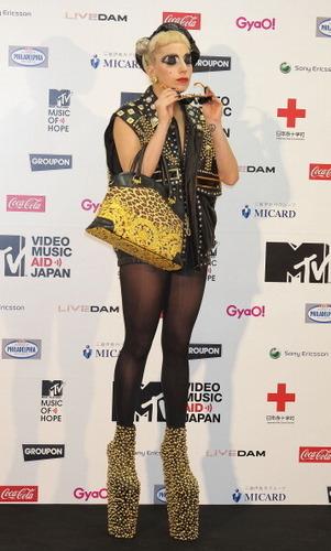 Lady Gaga - एमटीवी Video संगीत Aid जापान Press Room