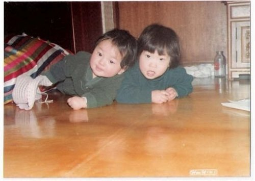 Leeteuk and his sister