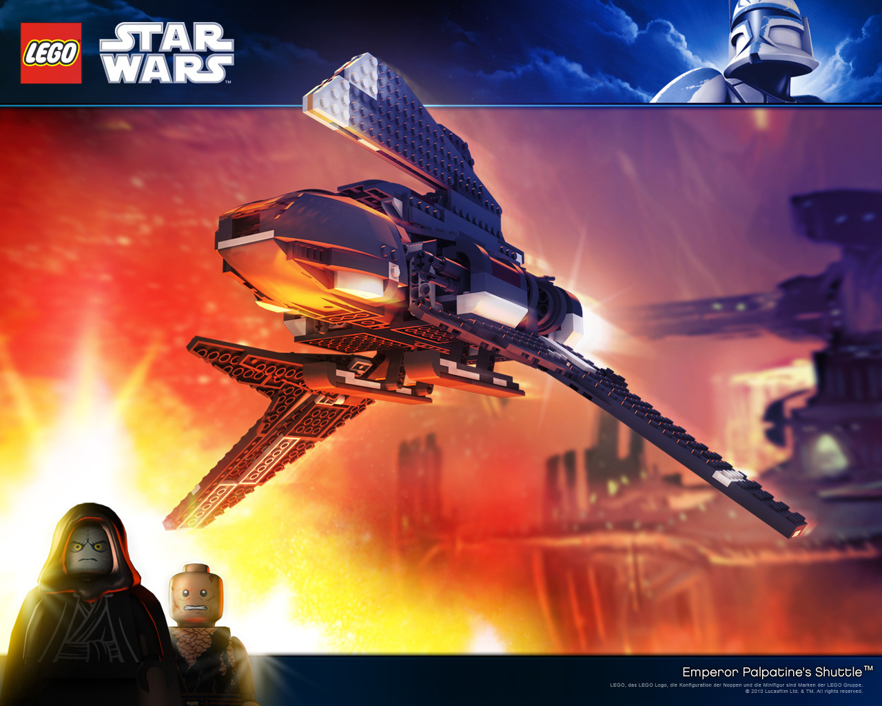 lego star wars images lego star wars hd wallpaper and background photos 23157036. Black Bedroom Furniture Sets. Home Design Ideas