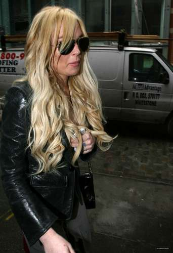 Lindsay Lohan Out In Soho On 04/12