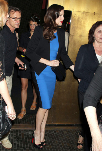 "Liv Tyler attends the after party for the Cinema Society & Grey oca screening of ""The Ledge"""