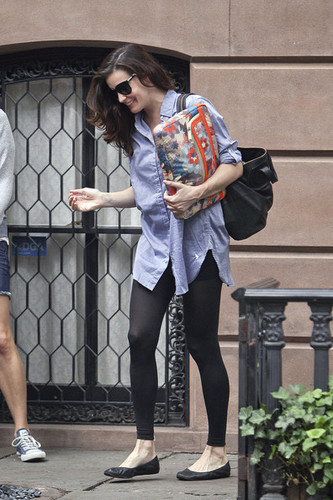 Liv Tyler is seen leaving her NYC inicial with a friend.