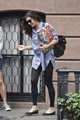 Liv Tyler is seen leaving her NYC home with a friend.  - liv-tyler photo