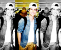 Logan at the airport!