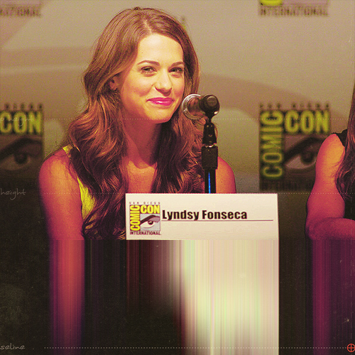 Lyndsy at Comic-con ♥