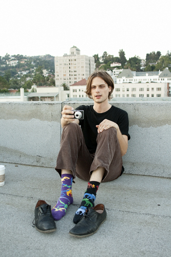 MGG on the roof of his old apartment building