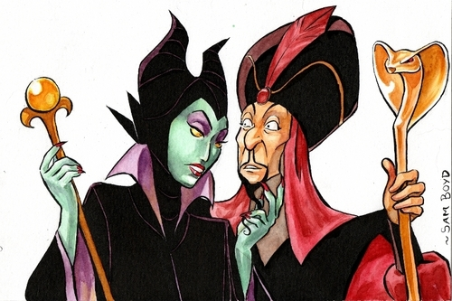 Maleficent and Jafar