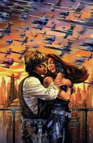 Mara Jade Skywalker wallpaper possibly containing anime titled Mara and Luke