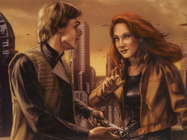 Mara Jade Skywalker wallpaper called Mara and Luke