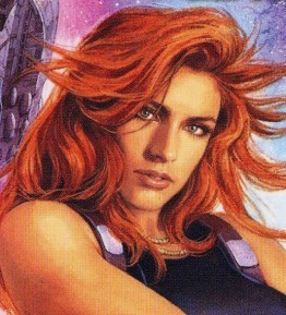 Mara Jade Skywalker wallpaper possibly containing a portrait titled Mara