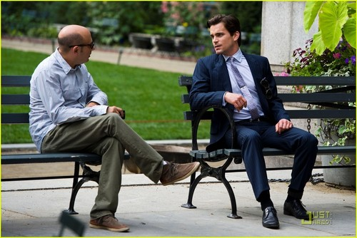 Matt Bomer: Shirtless for 'White Collar'!