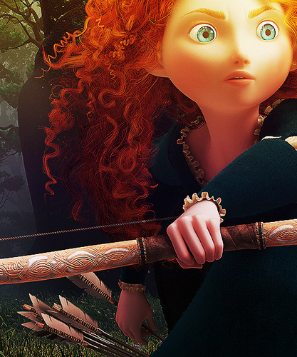 Merida from Brave - pixar Fan Art