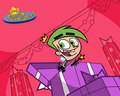 Merry Christmas Cosmo! - the-fairly-oddparents wallpaper