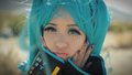 Michelle Phan as Hatsune Miku - michelle-phan photo
