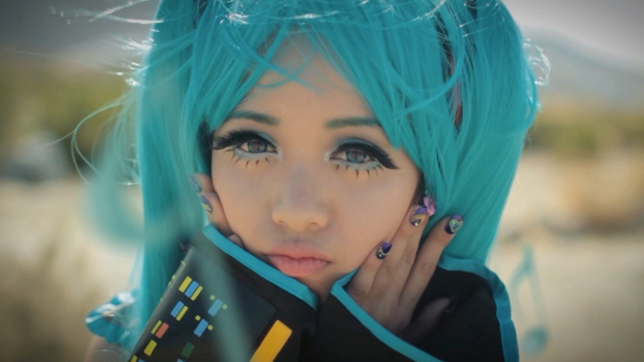 michelle phan images michelle phan as hatsune miku hd