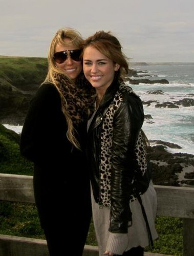 Miley and his Mummy