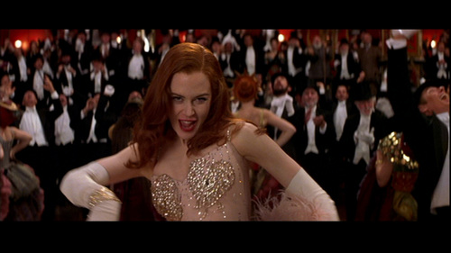 Nicole Kidman wallpaper possibly with a bridesmaid, a business suit, and a theater titled Moulin Rouge