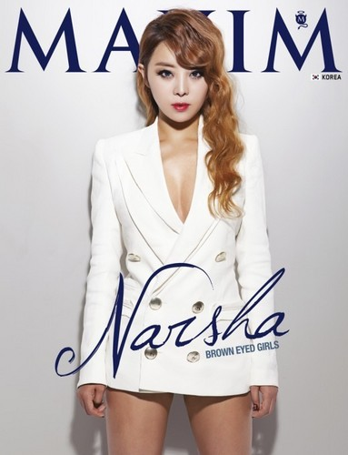 Narsha for Maxim