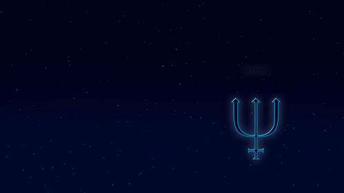 Neptune alchemical symbol