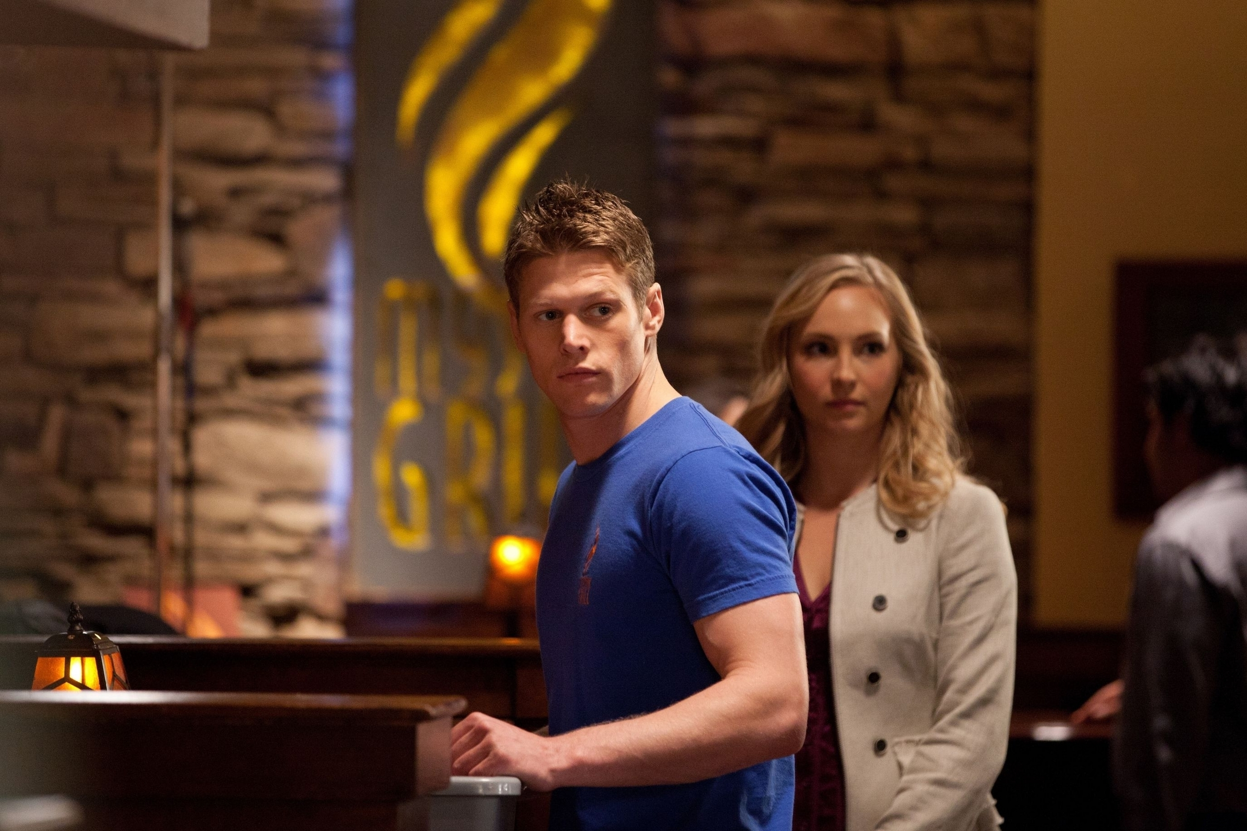 New still of Candice as Caroline in TVD 2x20: The Last день [HQ]!
