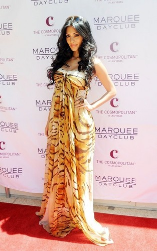 Nicole Scherzinger celebrating her birthday at Marquee Nightclub and Dayclub (June 25).
