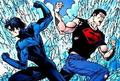 Nightwing and Superboy
