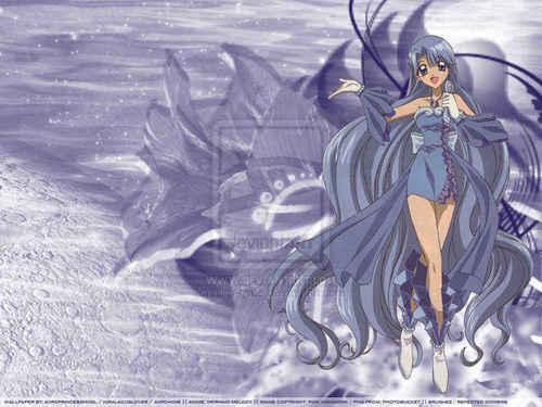Noel, Mermaid Melody kertas dinding titled Noel