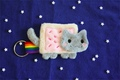 Nyan Cat keychian! - nyan-cat photo