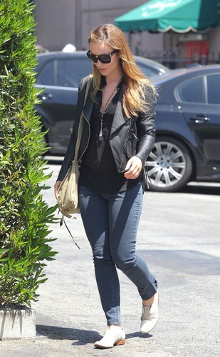 Out for lunch in Hollywood, CA [June 20, 2011]