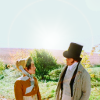 Pride and Prejudice photo probably with a horse wrangler entitled PP