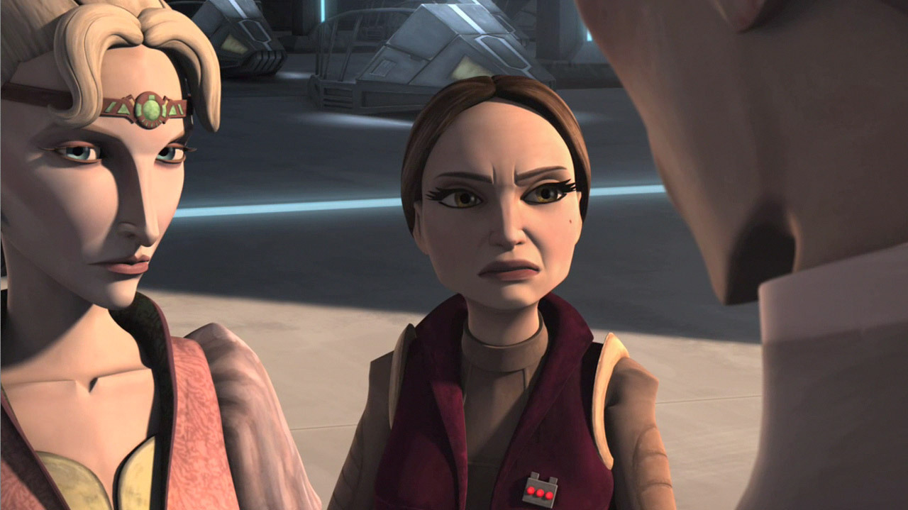 Which pic does Padme look better in? Poll Results - Clone