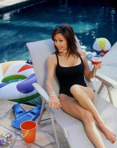 patricia heaton fondo de pantalla probably containing a leotard called Patricia Heaton
