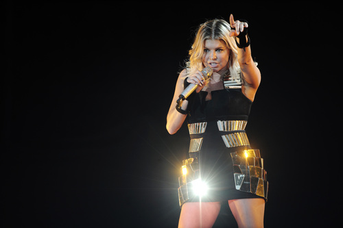 Performs At Stade De France 22 06 2011