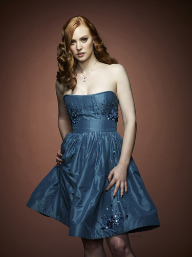 Deborah Ann Woll 壁紙 probably containing a ディナー dress, a gown, and a カクテル dress called Photoshoot of Season Four