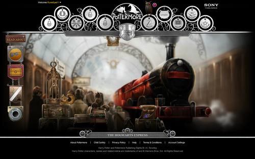 Pottermore screenshots