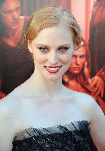 Deborah Ann Woll 바탕화면 probably with a portrait titled Premiere Of True Blood Season 4, LA - June 21