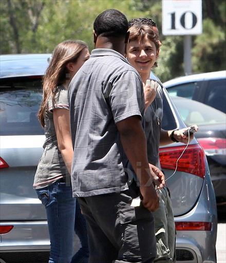 Prince, Paris, And Blanket At The Movies 6/23/2011 - prince-michael-jackson photo