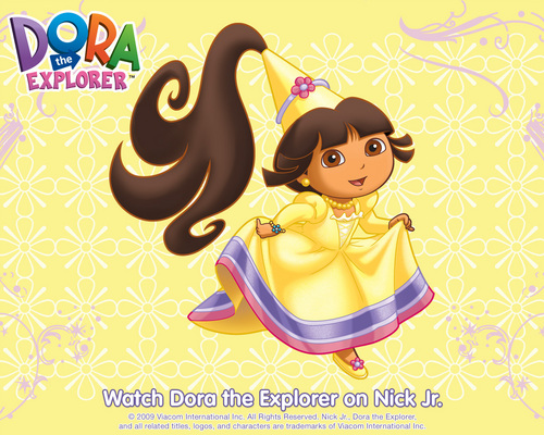 Dora the explorer images princess dora wallpaper hd wallpaper and dora the explorer wallpaper called princess dora wallpaper voltagebd Image collections