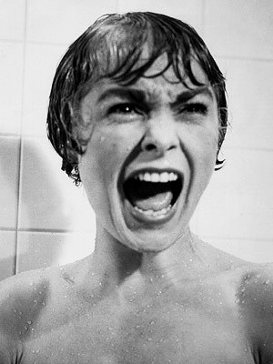 Psycho wallpaper with a bathtub, a hot tub, and a bathroom titled Psycho