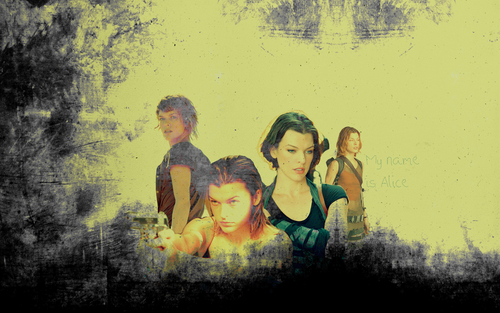 Resident Evil Movie wallpaper entitled Resident Evil Movie