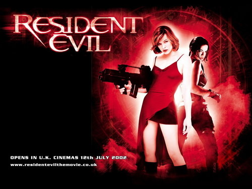 Resident Evil Movie 壁纸 possibly with a 音乐会 titled Resident Evil Movie