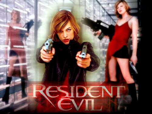Resident Evil Movie 壁纸 containing a portrait called Resident Evil Movie