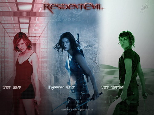 Resident Evil Movie 壁纸 probably containing a 音乐会 and a sign called Resident Evil Movie