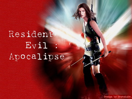 Resident Evil Movie 壁纸 possibly with a 音乐会 entitled Resident Evil Movie