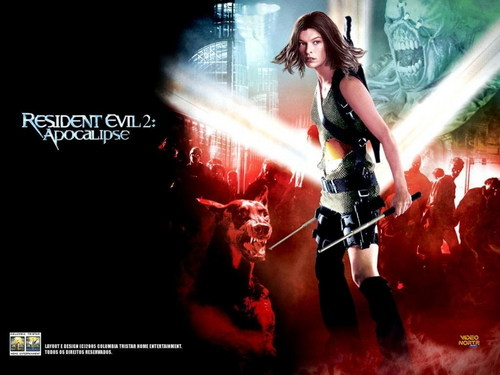 Resident Evil Movie wallpaper containing a concert called Resident Evil Movie